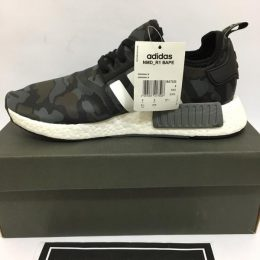 Mens Adidas NMD R1 Nomad Mesh Charcoal Core Black Solid Grey